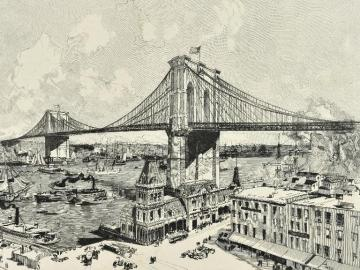 The Bridge of Brooklyn, New York