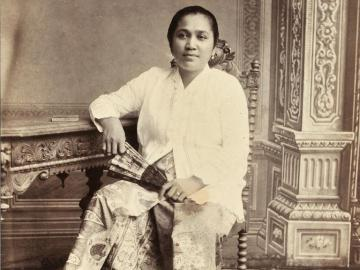 Portrait of a Javanese woman, Batavia