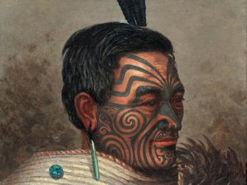 Portrait of a Maori Chef