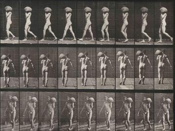 Naked Man, plate of Animal Locomotion