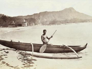 Surf Boat of the Native Honolulu