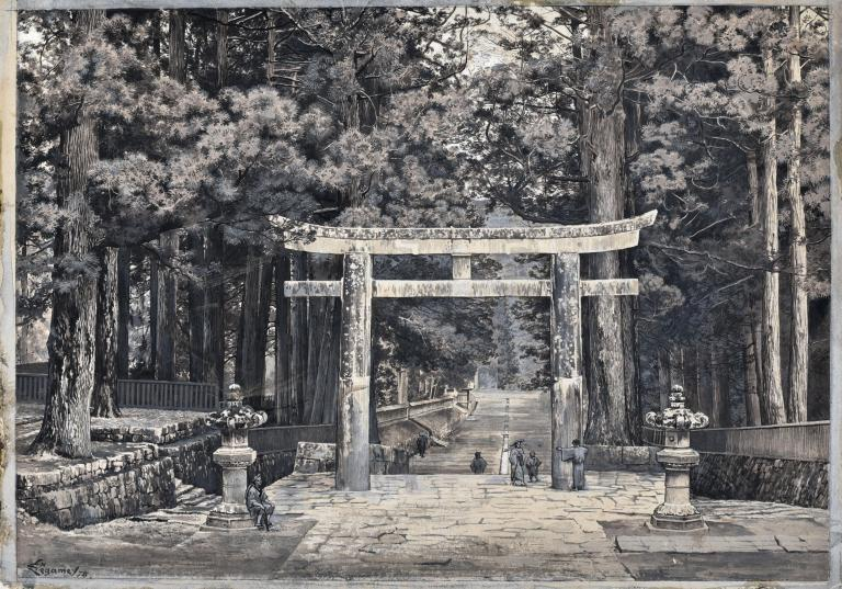 The Great Gate at Nikko, Japan