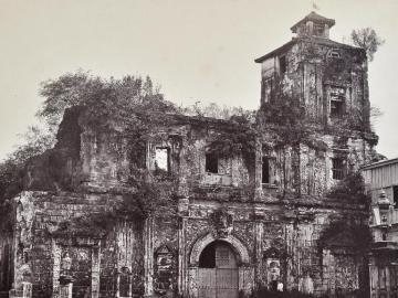 Ruins of the Jesuit Church S. Ignacio, Manila