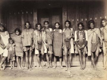 Native Burmese people