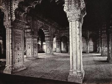 Hall of Private Audience in the Palace at Delhi