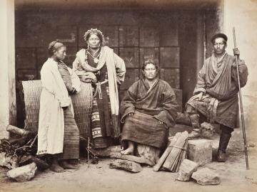 Group of Bhutanese people, Kashmir
