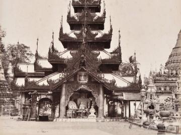 Temple of the Great Shwedagon Pagoda, Rangoon