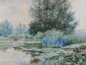 Landscape at Pond