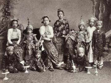 A Royal Burmese Family