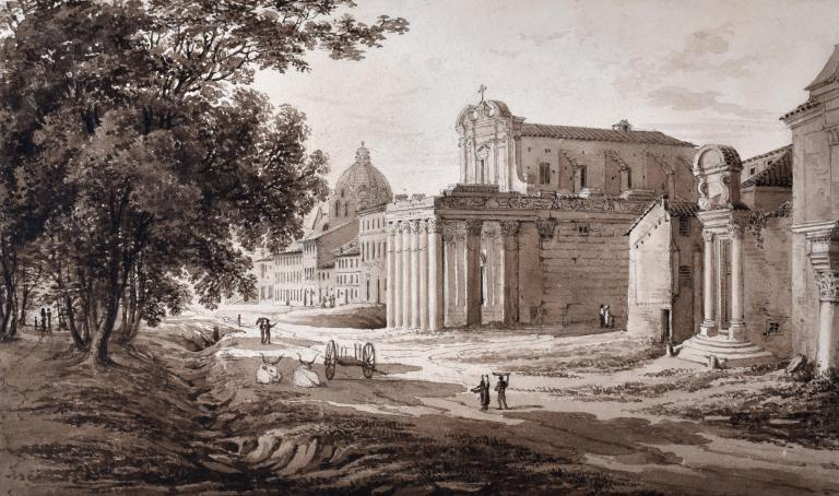 Rome, Temple of Antoninus and Faustina