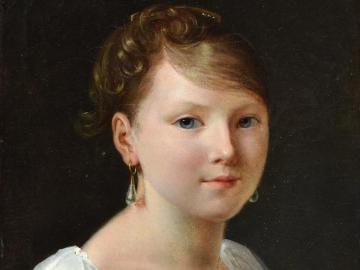 Young Girl with Pearl