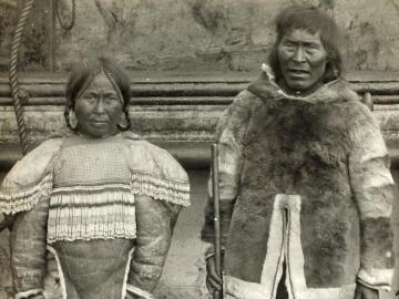 Inuits, Seal hunter and his wife